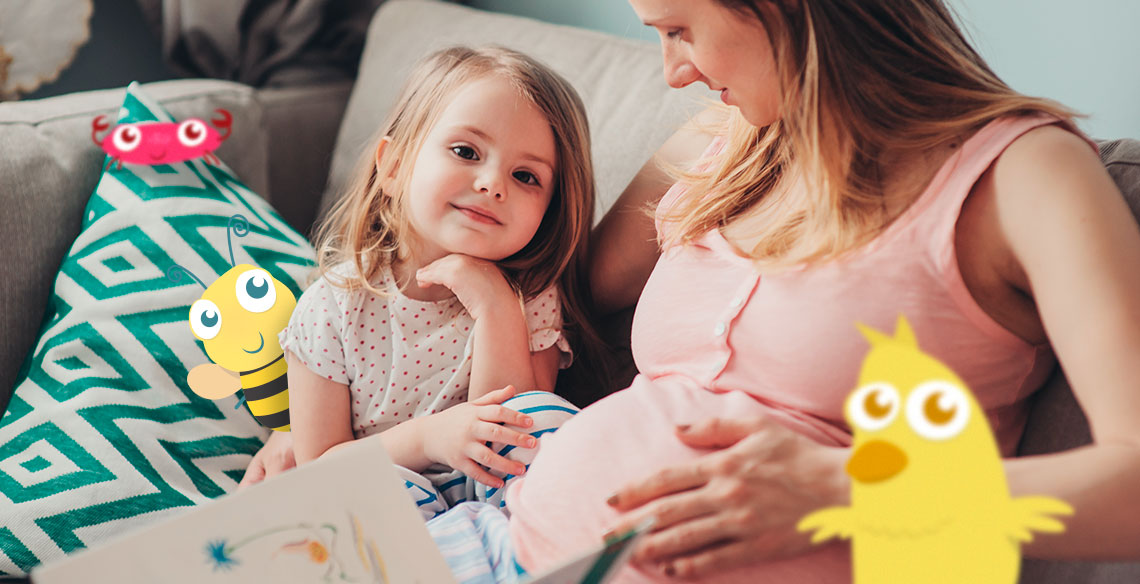 a importancia da leitura para os bebes desde antes do nascimento