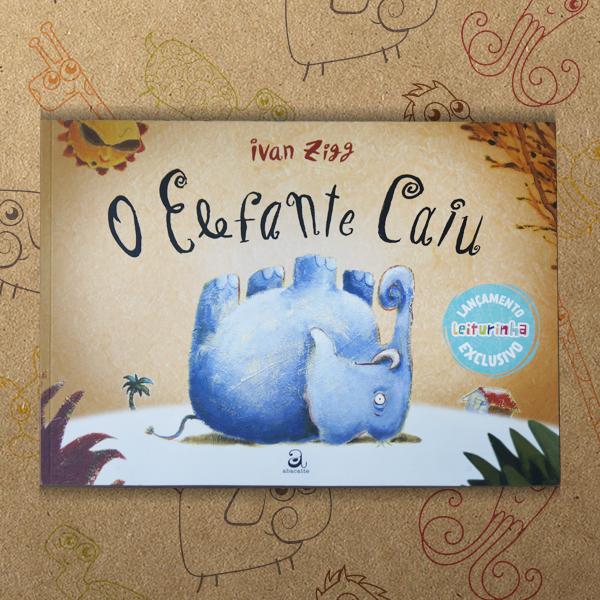 livro infantil da leiturinha elefante caiu