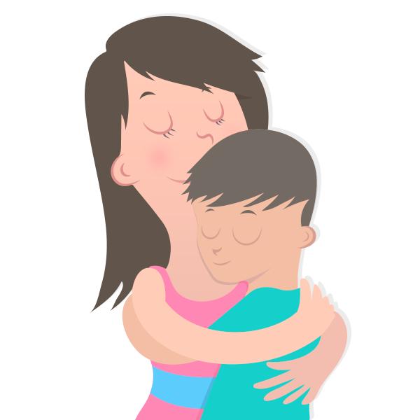 Saudade-abraço