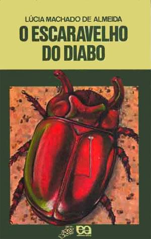 O Escaravelho do Diabo. Capa da publicação pela série Vaga-Lume. Imagem: Reprodução.