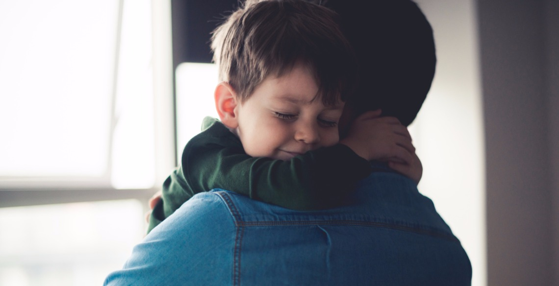 feeling-happy-in-dads-arms-picture-id649431568