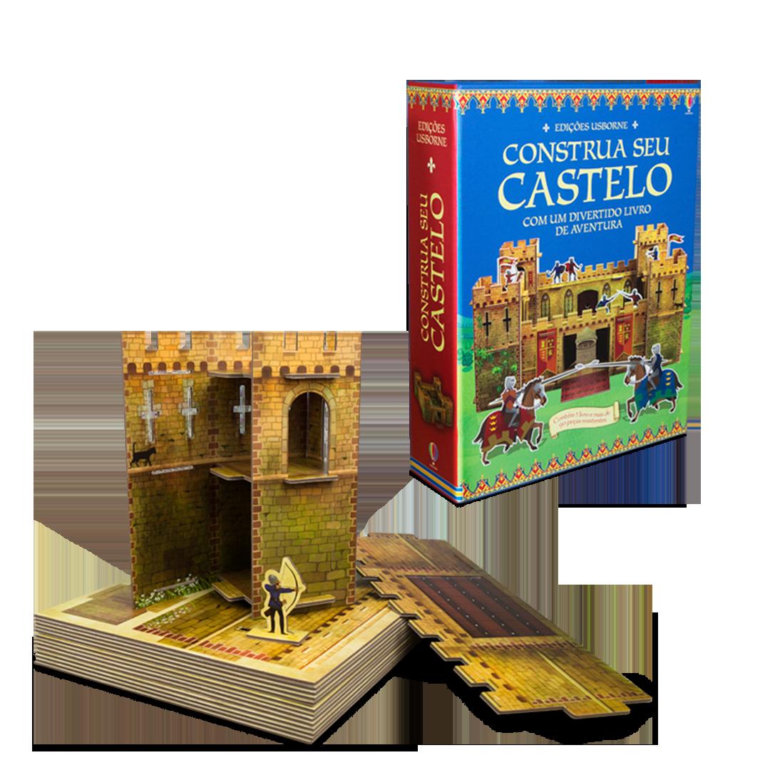 Livro-Brinquedo Construa seu Castelo