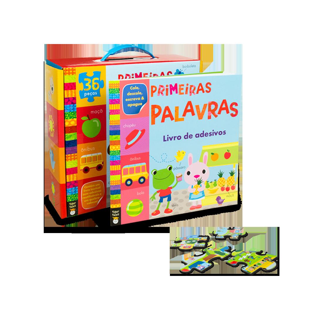Livro-Brinquedo Primeiras Palavras