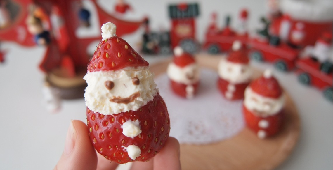 Papai Noel de chantilly