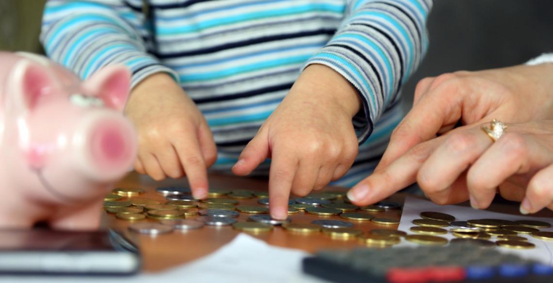educação financeira para crianças